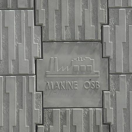 CTP Fiberglas Logolu Beton Kalýbý 1