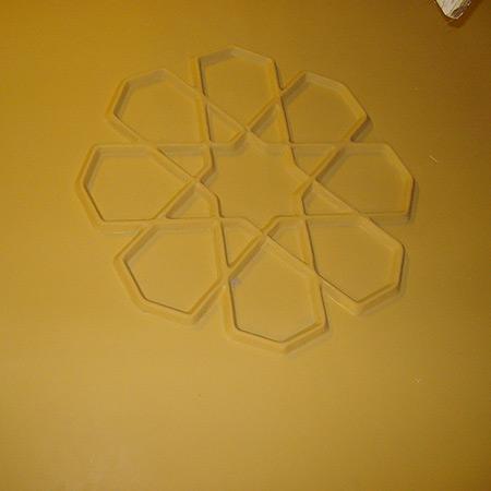 GFK-Glasfaser-Betonform mit Firmenlogo 10