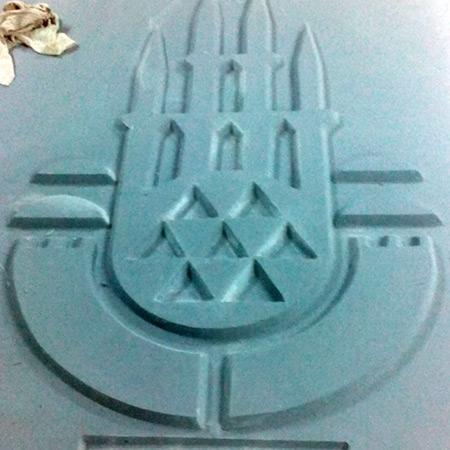 CTP Fiberglas Logolu Beton Kalýbý 14