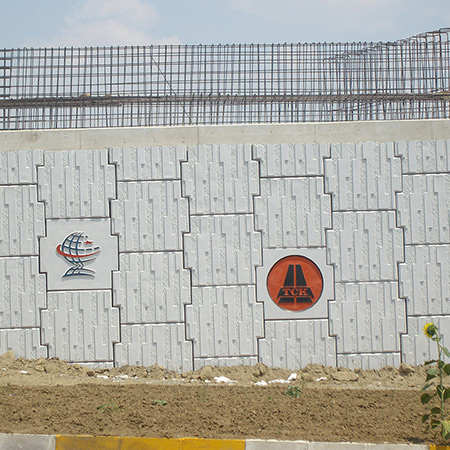 CTP Fiberglas Logolu Beton Kalýbý 16