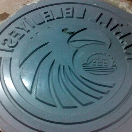 CTP Fiberglas Logolu Beton Kalýbý 18