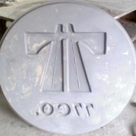 CTP Fiberglas Logolu Beton Kalýbý 19