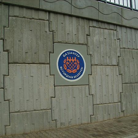 CTP Fiberglas Logolu Beton Kalýbý 5