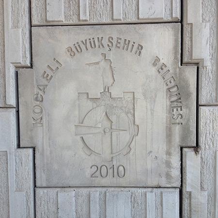 CTP Fiberglas Logolu Beton Kalýbý 6