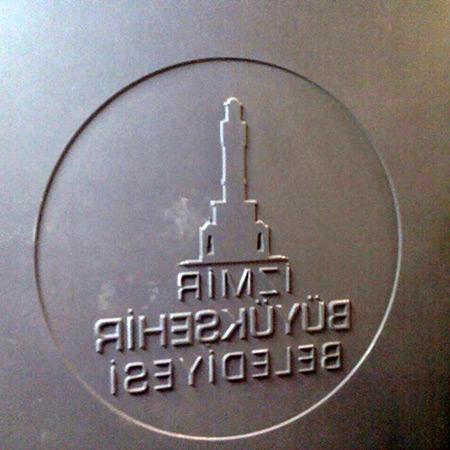 CTP Fiberglas Logolu Beton Kalýbý 9