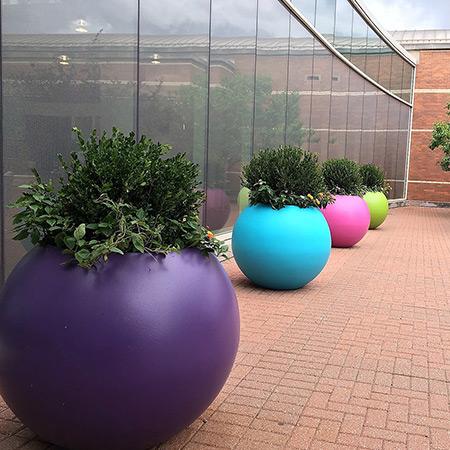 FRP Fiberglass Special Design Potted Plant 11