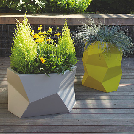 FRP Fiberglas Special Design Topfpflanzen 12