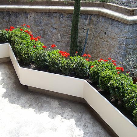 FRP Fiberglass Special Design Potted Plant 2