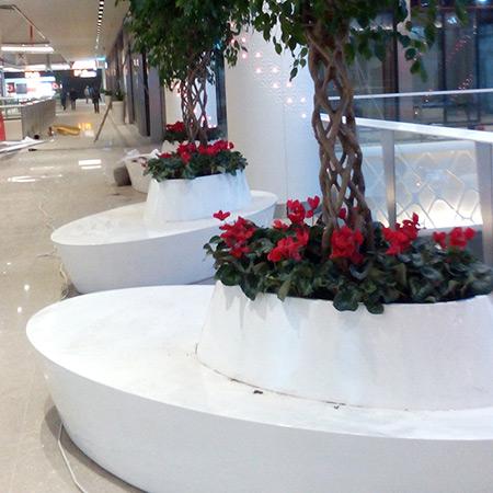 FRP Fiberglas Special Design Topfpflanzen 7