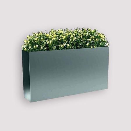 Rectangular Fiberglass GRP Flower Pot 22