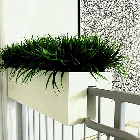 Rectangular Fiberglass GRP Flower Pot 4