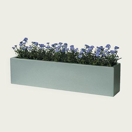 Rectangular Fiberglass GRP Flower Pot 9