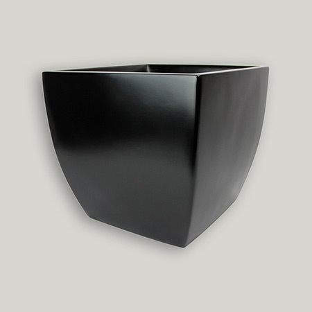 Square Conical Fiberglass GRP Flower Pot 4