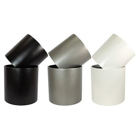 Zylinder Fiberglas FRP Blumentopf 1