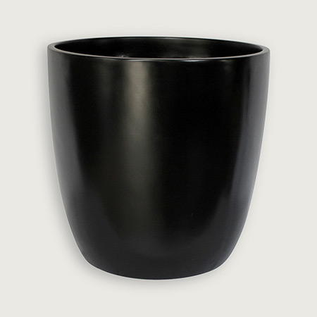 Round Conical Fiberglass GRP Flower Pot 2