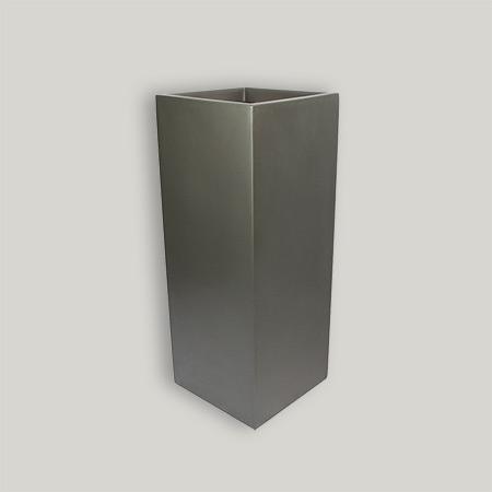 Quadratischer Glasfaser-GFK-Blumentopf 2