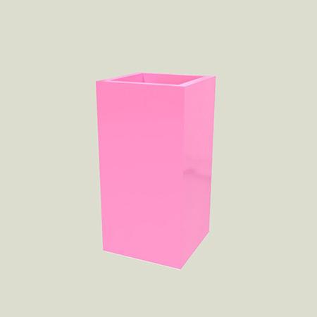 Quadratischer Glasfaser-GFK-Blumentopf 5
