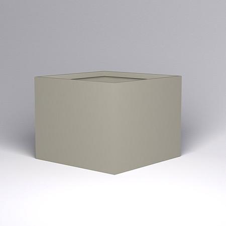 Quadratischer Glasfaser-GFK-Blumentopf 6