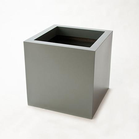 Quadratischer Glasfaser-GFK-Blumentopf 8